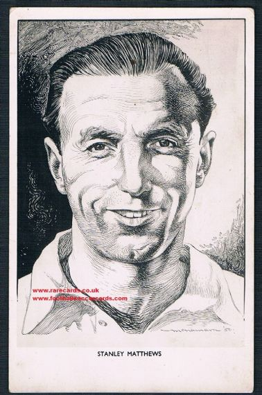 1951 Stanley Matthews Odhams Press
